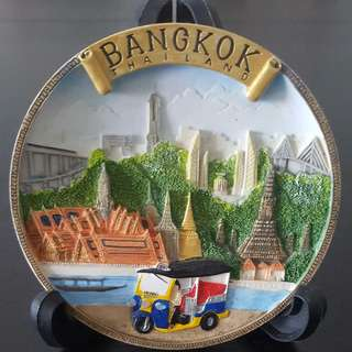 Bangkok Thailand Display Plaque with Stand