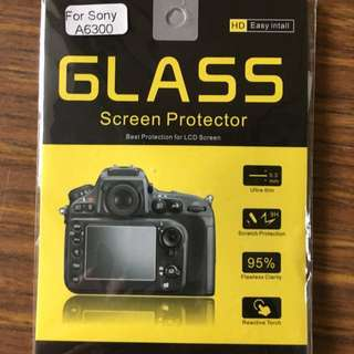 A6500 Tempered Glass
