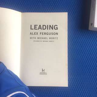 Book - Alex Ferguson Leading