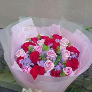 Flower Bouquet∕Hand Bouquet∕Birthday Bouquet∕Anniversary Bouquet∕Proposal Bouquet - 24539