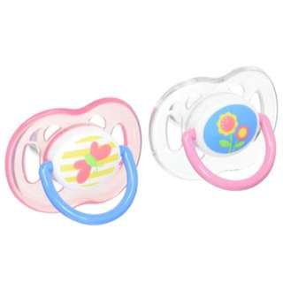 🌈(Ready Stock) 🆕Brand New Sealed in Box Philips AVENT Orthodontic Pacifier, Pink Butterfly and Flower, 18 Plus Months, 18m+