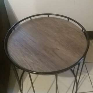 for sale: steel side table