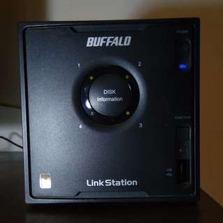 4 Bay NAS  LinkStation™ Pro Quad LS-QVL Buffalo Technology