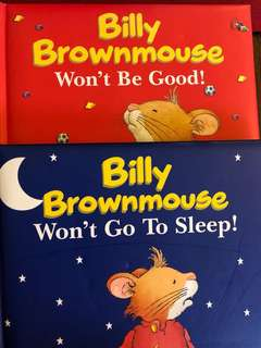 Billy brown mouse won't go to sleep / be good