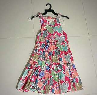 Zara summer flower dress