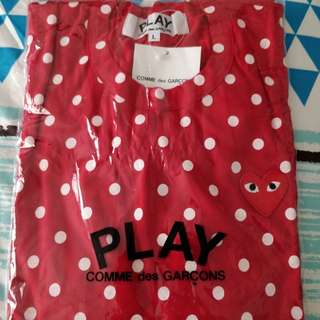 Comme Des Garcons Play Polka Dots T-shirt