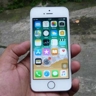 iphone SE 64GB Silver Fullset Original