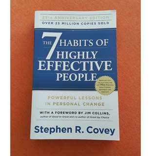NEW The 7 Habits of Highly Effective People Stephen R. Covey