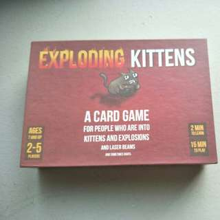 Exploding Kittens Original Version