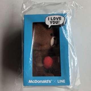 MacDonalds LINE Brown Bear & Cony