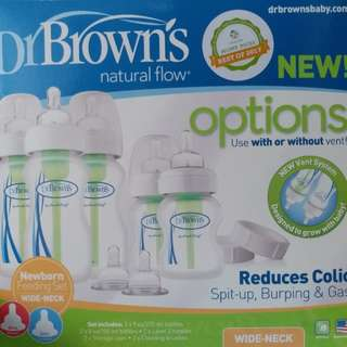 Dr Brown's Options Bottle Set