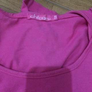 chicgirl shirt pink