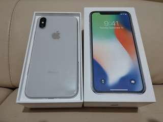 99%new Iphone X 64gb white