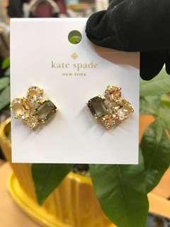 Kate spade 水晶耳環
