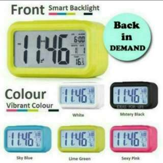 Time Sale Smart Alarm LCD Alarm Clock