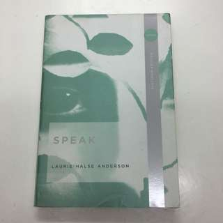 Laurie Halse Anderson: Speak