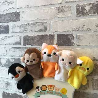BN Fingers Cloth Puppets