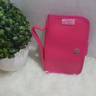 JUAL RUGI NEW NAUGHTY CLUTCH ACCESSORIES KOSMETIK HANDPHONE HP POUCH TAS ORGANIZER