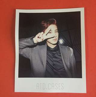 FREE GIFT + CHANYEOL OFFICIAL POLAROID