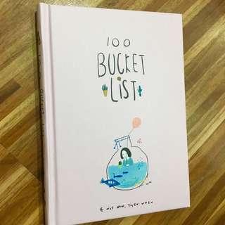 100 Bucket List Journal Notebook