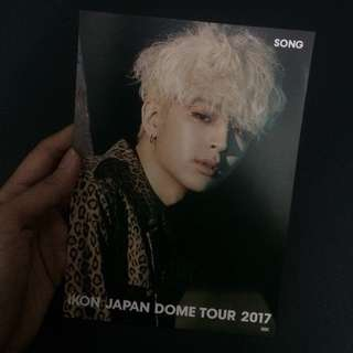 iKON Yunhyeong postcard from Japan Dome Tour