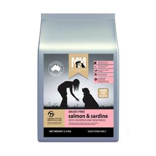 Meals For Mutts MfM Grain Free Salmon And Sardine Dry Dog Food Hypoallergenic 2.5kg