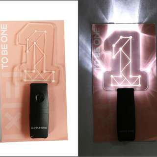WANNA ONE SHOWCON OFFICIAL LIGHTSTICK