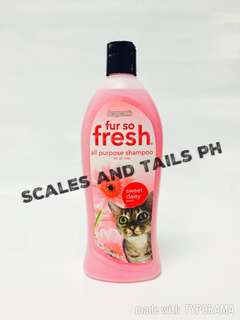 Fur so Fresh All Purpose Cat Shampoo - Sweet Daisy