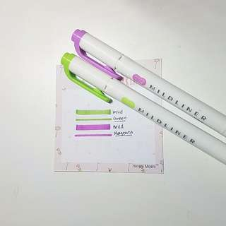 MILDLINER highlighters