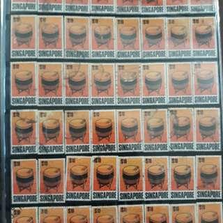 48pcs 1968 $10 stamp