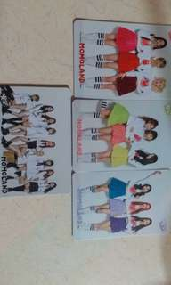 Momoland yes card 1set 4張
