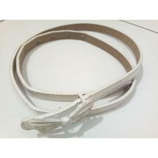 White Ribbon Belt