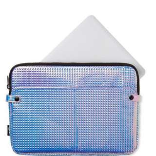 TYPO HOLOGRAPHIC LAPTOP BAG/CASE