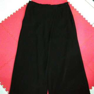 Zara Kulot Panjang Hitam Size M (SK89)