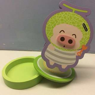 Mcdull piggy note clipper display stationary