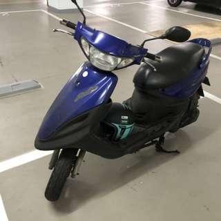 Yamaha super four