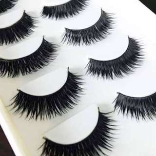 10 Thick Fake Lash
