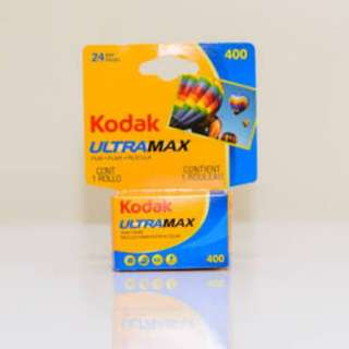 Kodak Ultramax expired 24/36 shots 400 asa