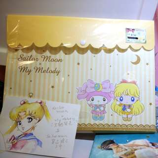 日本sailor moon x my melody系列file