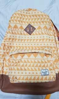 Herschel yellow bag