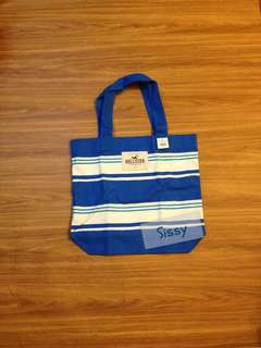 Hollister tote bag 全新 正品