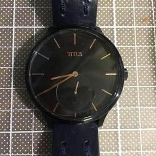Solvil Titus Watch男裝錶(有盒有單,獨家加送皮錶帶)