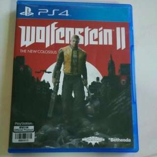 Ps4 Playstation, Wolfenstein 2,