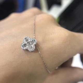 18k 白金鑽石頸錬Diamond