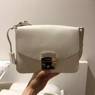 FURLA Metropolis Shoulder Bag | White