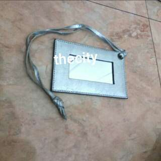 AUTHENTIC BALENCIAGA MIRROR CHARM (LEATHER)