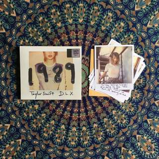 TAYLOR SWIFT 1989 D.L.X ALBUM