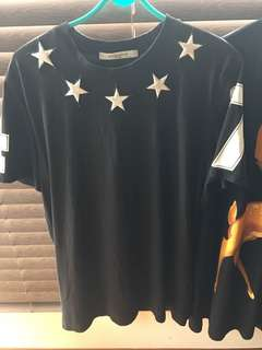 Givenchy Cuban star t-shirt
