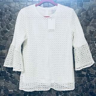 Lubna Lace blouse