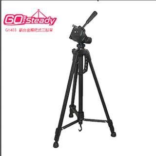 免運//全新//Go Steady G1403鋁合金相機腳架 黑色